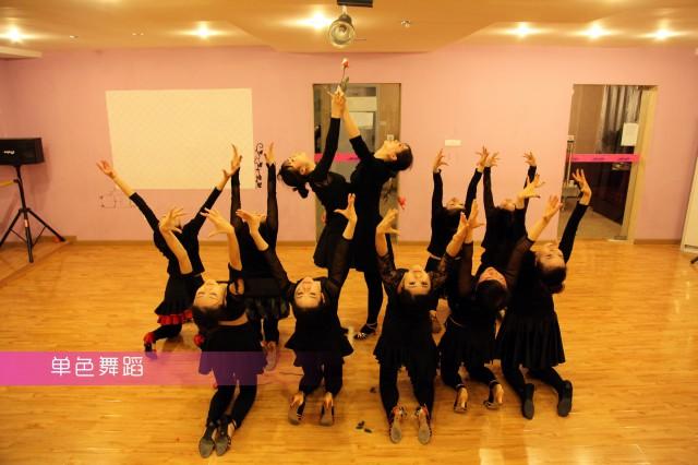 拉丁舞的动作练习方法介绍